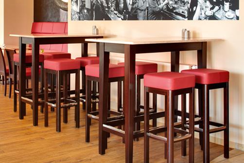 tables hautes table de bar mange debout pliable en bois et aluminium cuisine pinterest. Black Bedroom Furniture Sets. Home Design Ideas