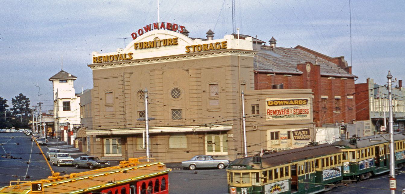 Crystal Palace Theatre, Dandenong Road, Caulfield, later Downard's