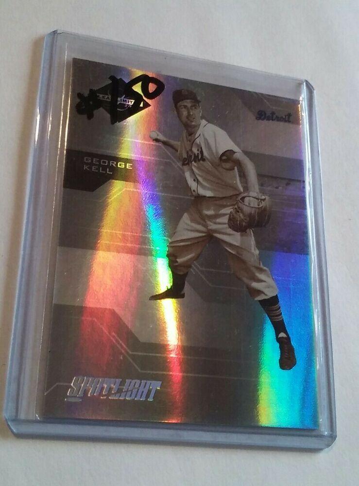 2005 leaf limited kell 165 baseball card refractor
