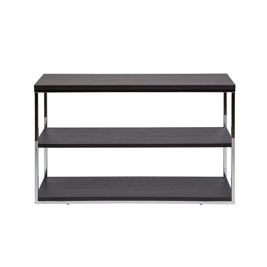 Cabaret console table in coffee.