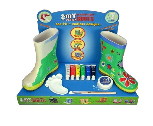 Design your own boots with water resitant colours!! From My Design