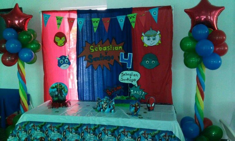 Avengers decoracion fiesta