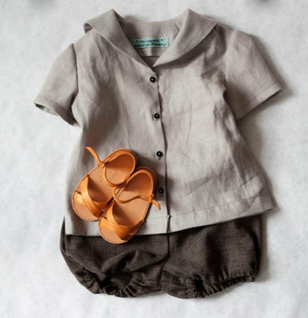 одежда для маленьких детей из льняных тканей - Поиск в ...