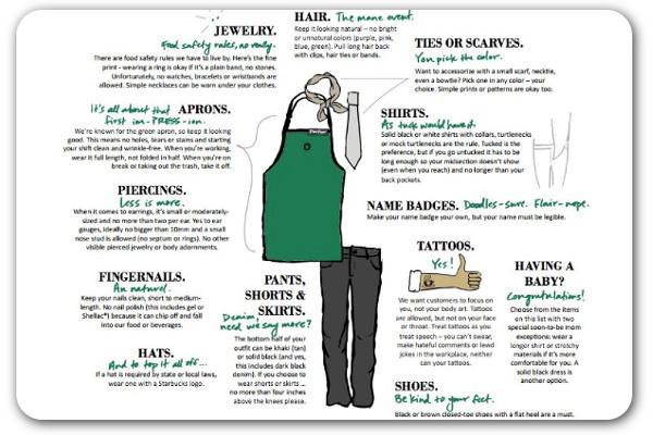 14+ Starbucks dress code ideas