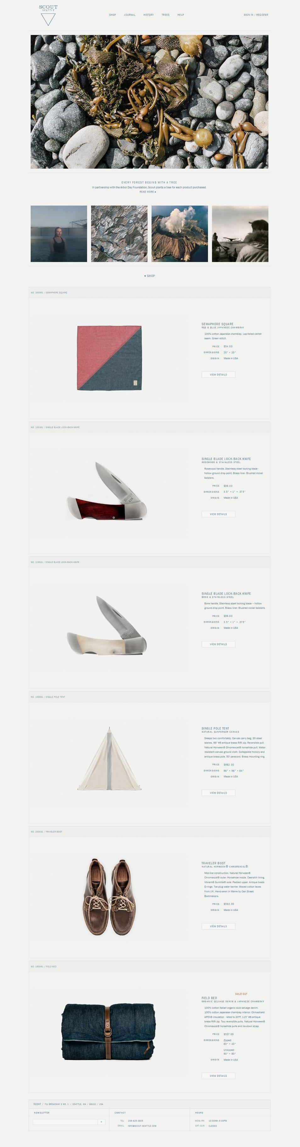 Scout Seattle Web Development Design Web Design Gallery Speculative Design