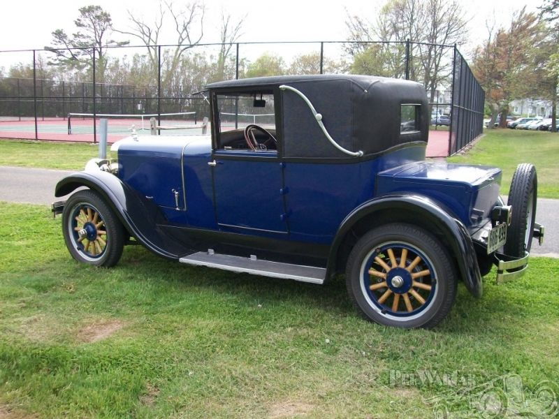 Franklin coupe aluminum 1925 for sale 3 | Antique Cars 1886-1927 ...