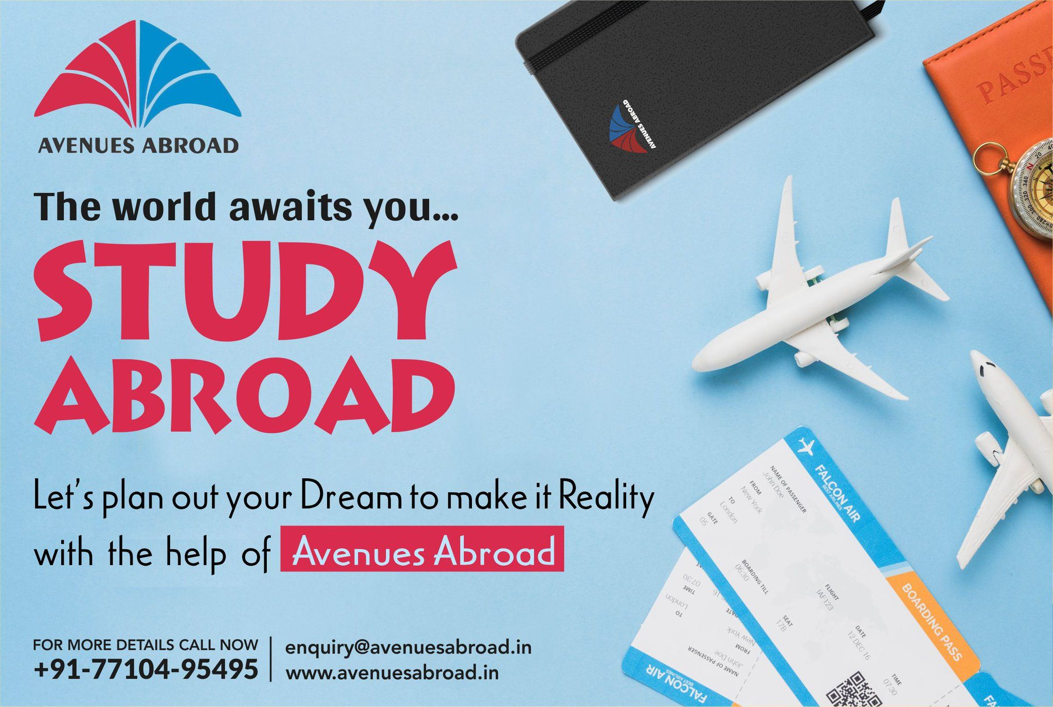 A prospective candidate aiming for an overseas career in a