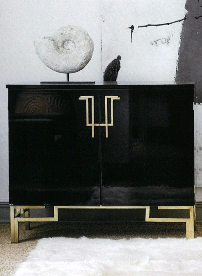 Elegant Cabinet With Asian Influence... Console ...