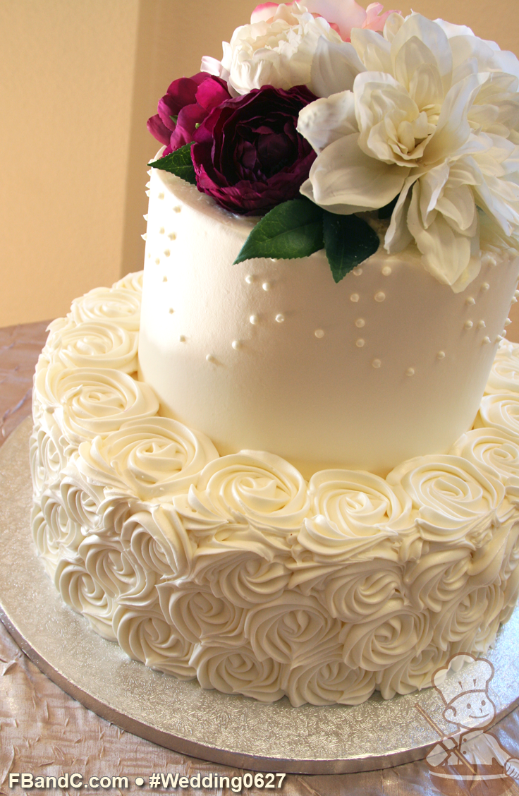 Design W 0627 | Butter Cream Wedding Cake | 12"|736|1128|?|1d98368d3dfc3fc91bcdea44ee591d73|False|UNLIKELY|0.31416064500808716