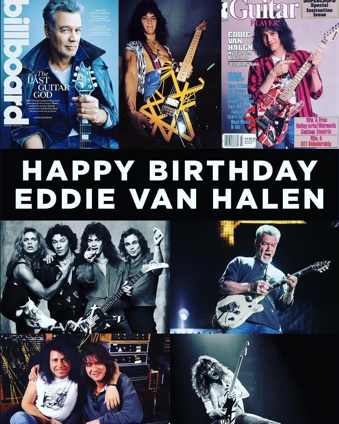 Dr Med Medbukey On Instagram Wishing Guitarhero Mr Eddievanhalen Of None Other Than Vanhalen A Very Happybi Eddie Van Halen Van Halen Guitar Hero