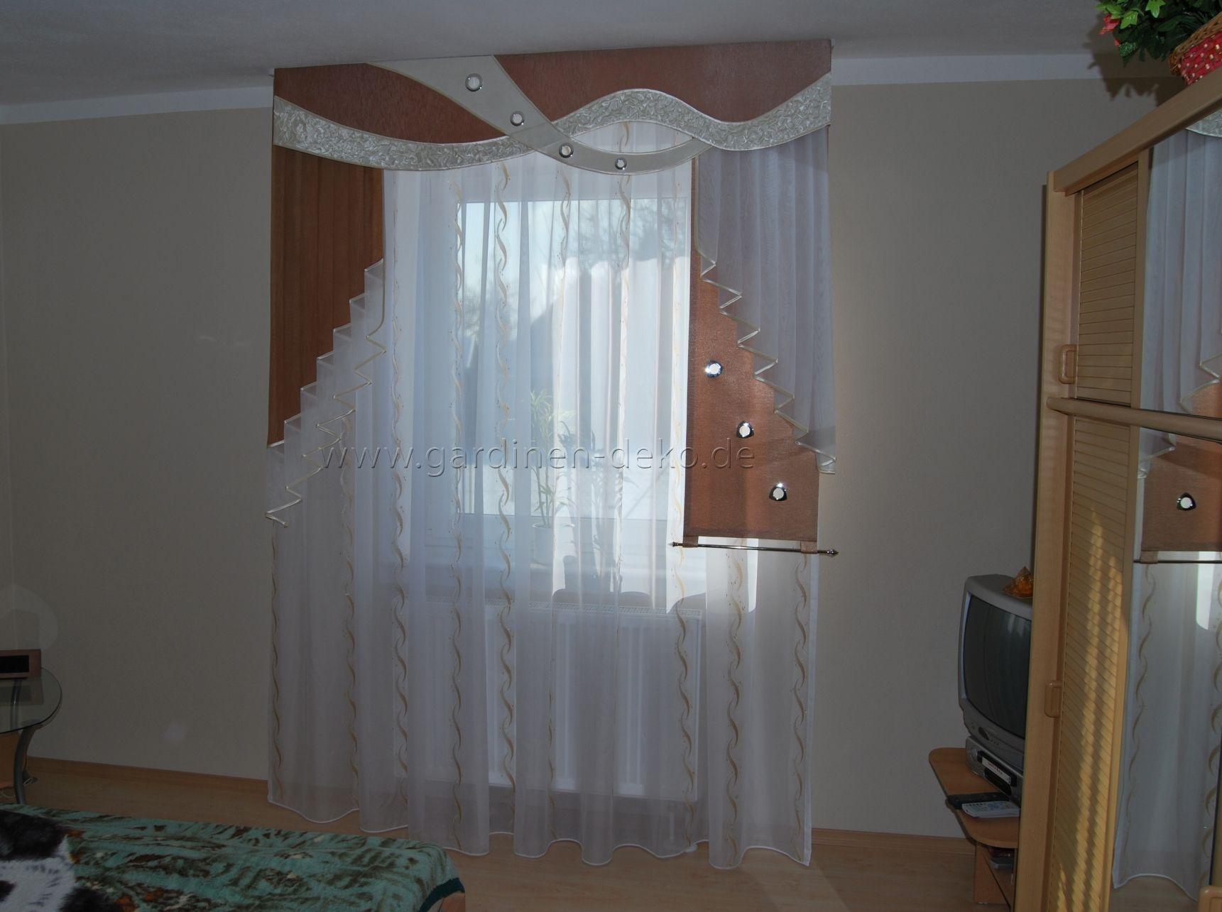 Klassischer Wohnzimmer Vorhang Mit Stufen Halbschal Und Schabracke, Schlafzimmer  Entwurf