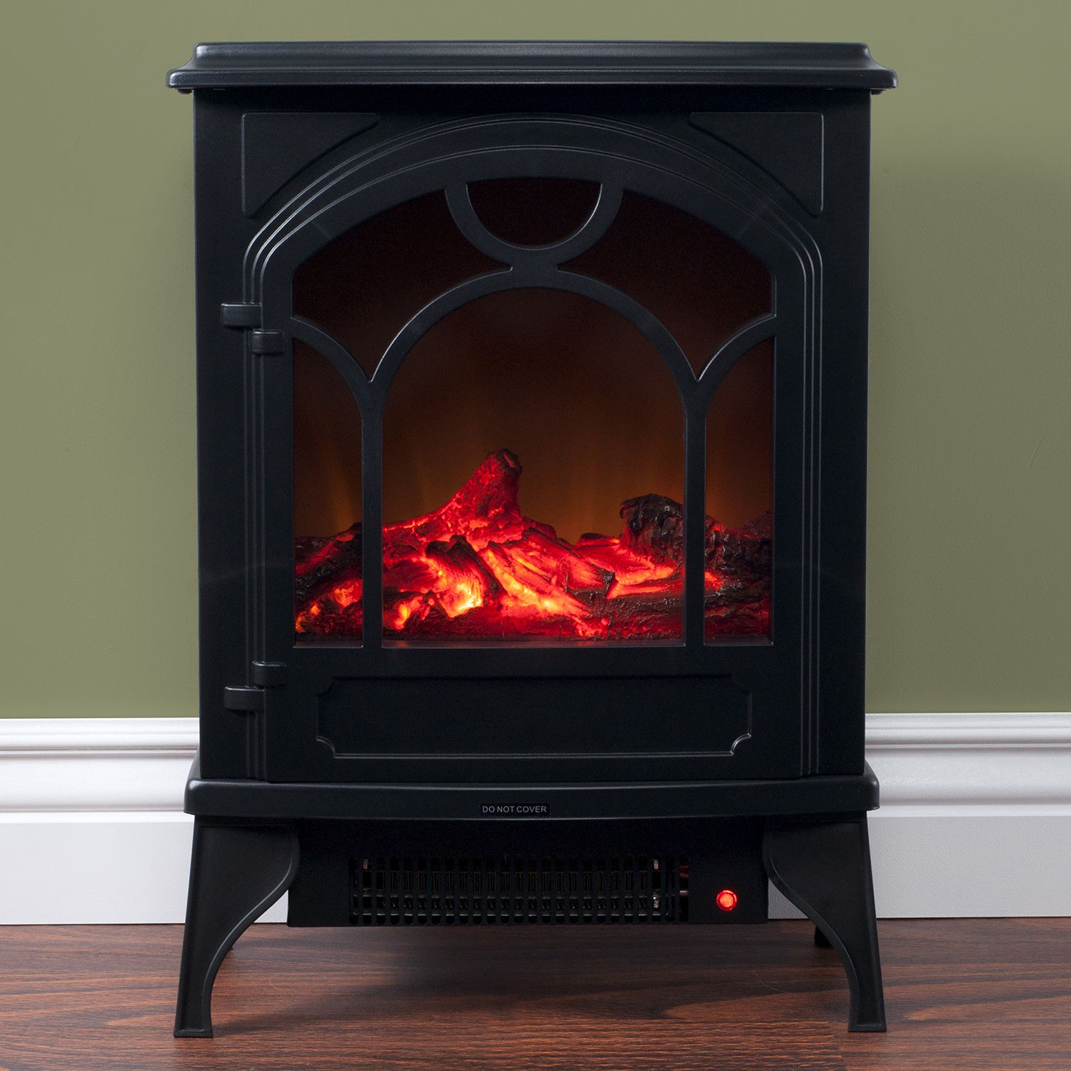 freestanding classic electric log fireplace products