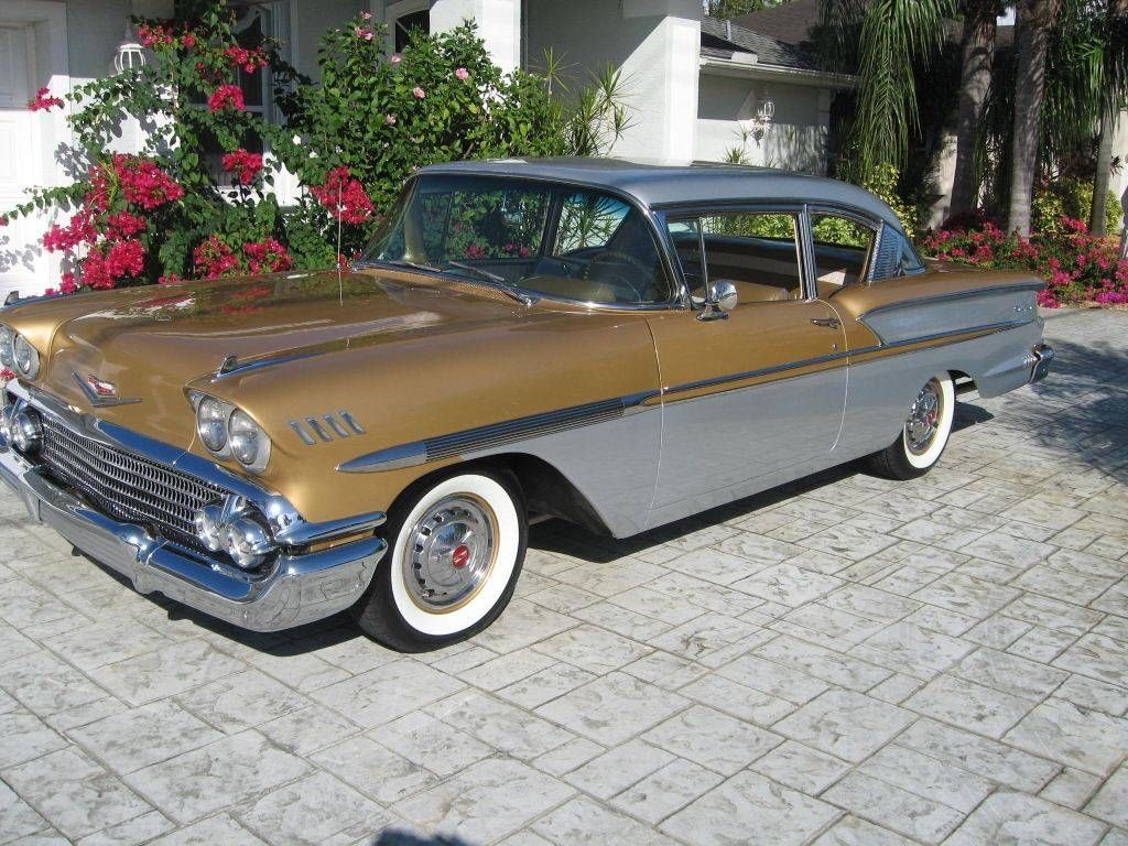 All Chevy 58 chevy bel air : 1958 Chevrolet Bel Air 2-Door Sedan - 50th Anniversary Edition ...