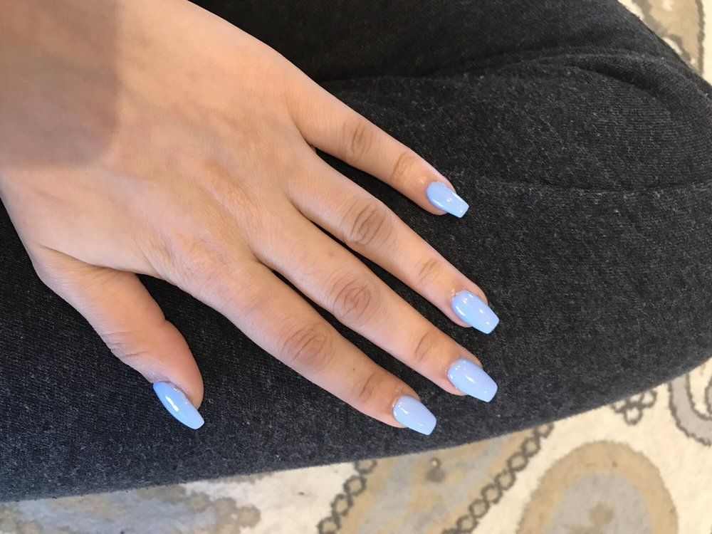 Uv Gel Nails Short Length Coffin 45 Yelp