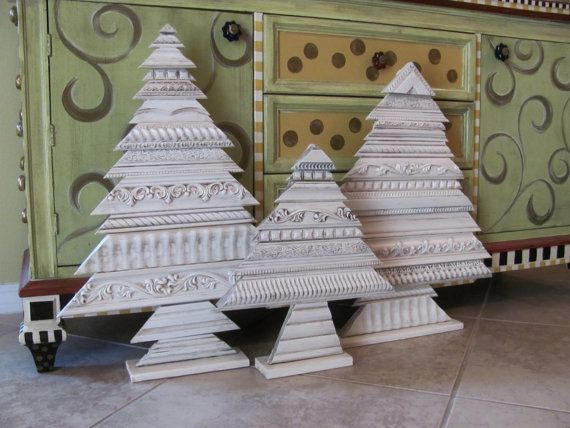 Picture Molding Christmas Trees Crafts Clever Crafts