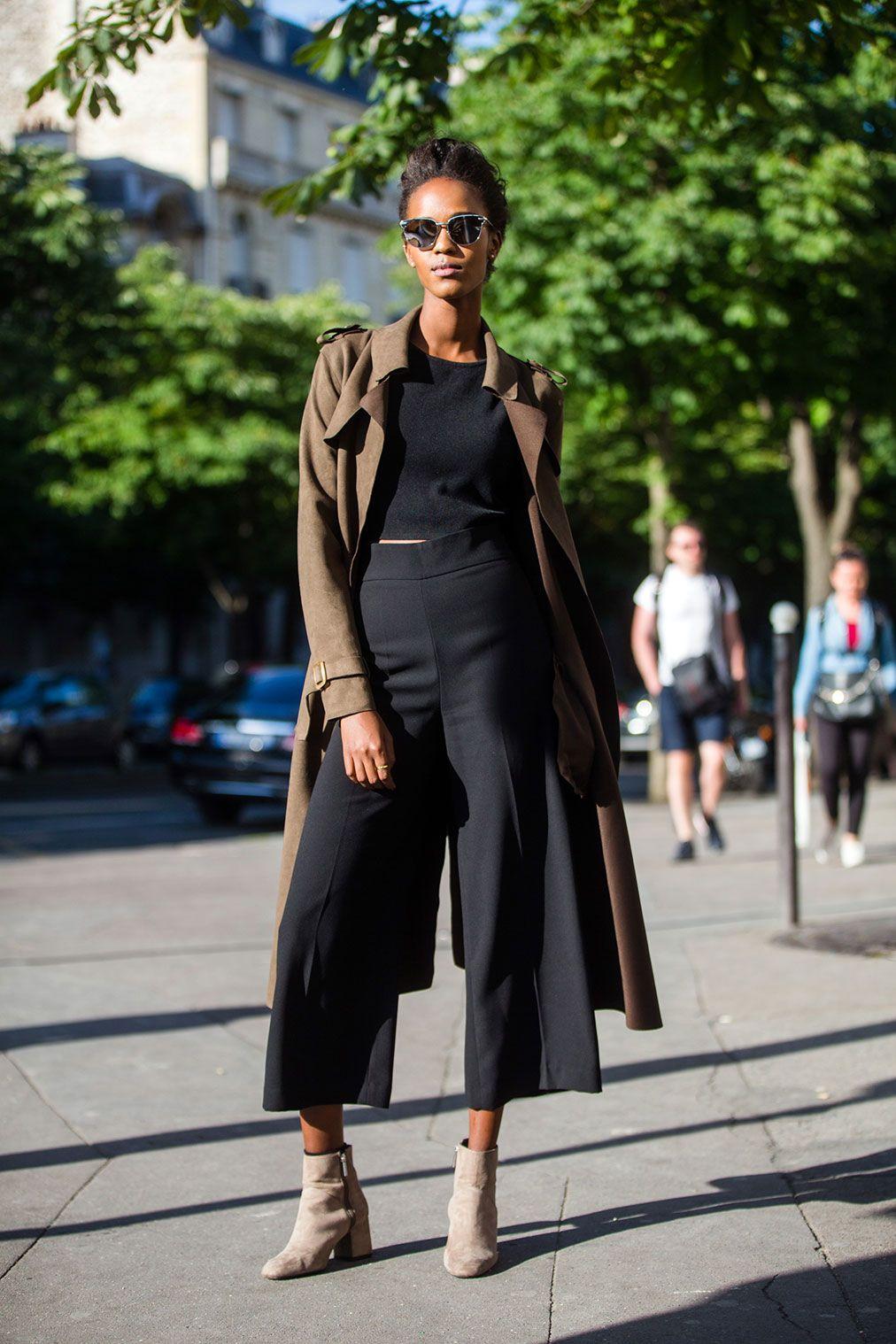 Leila Nda - On the Street: Paris Haute Couture Week Fall 16 - July 2016
