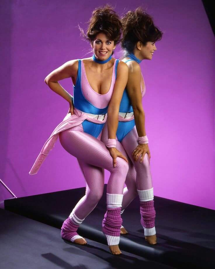 Pin by Tim Herrick on Deborah Shelton Aerobic outfits