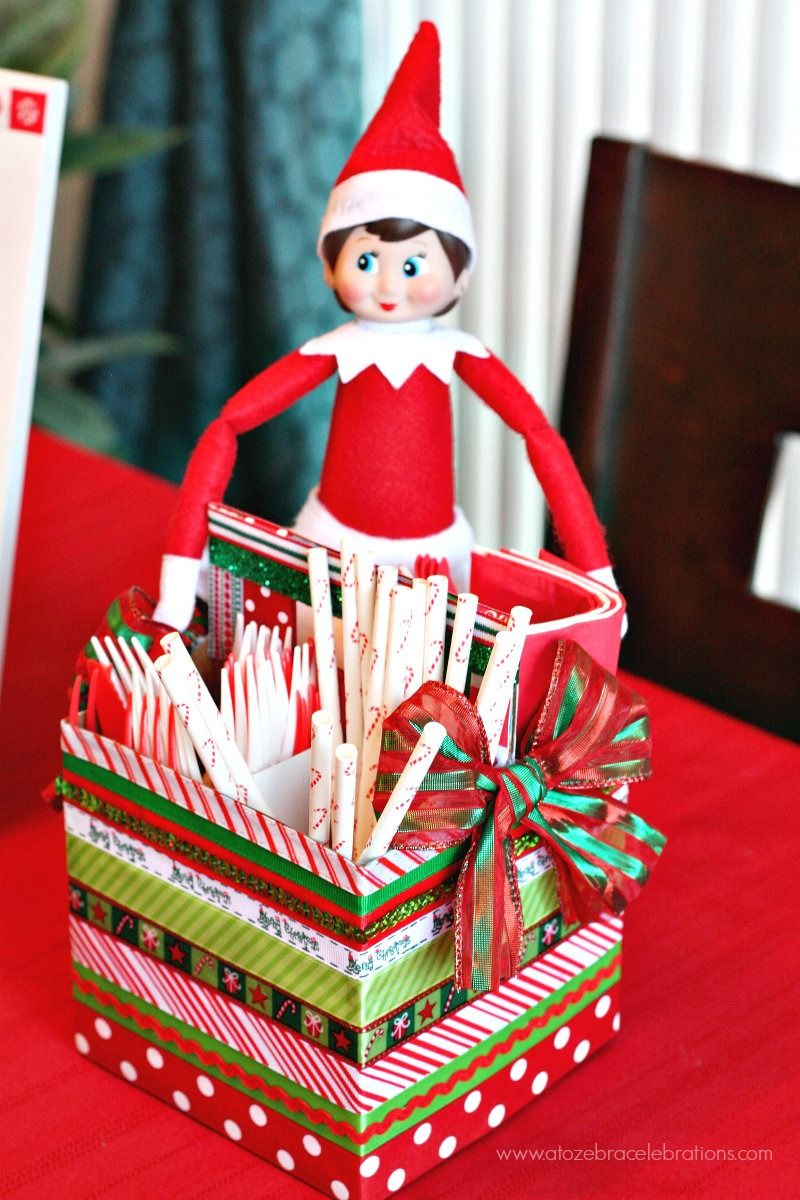Holiday Party Decor Ideas Part - 35: (20 Crafty Days Of Christmas) Diy Christmas Party Centerpiece