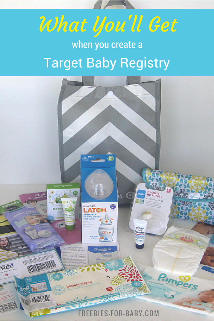Get A Free Gift Bag 70 Value When You Create A Target Baby