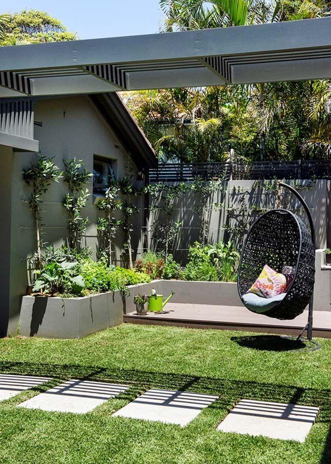 Jardim pequeno de canto de muro | decor | Pinterest | Pequeños y ...