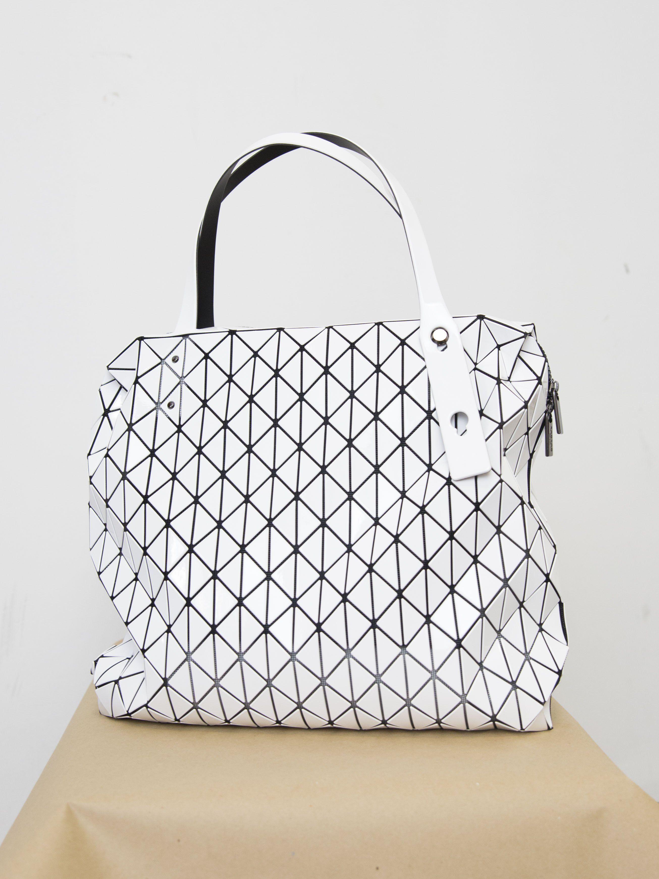 BAO BAO ISSEY MIYAKE Row Gloss Shoulder Bag  7dae9ec8c02d9