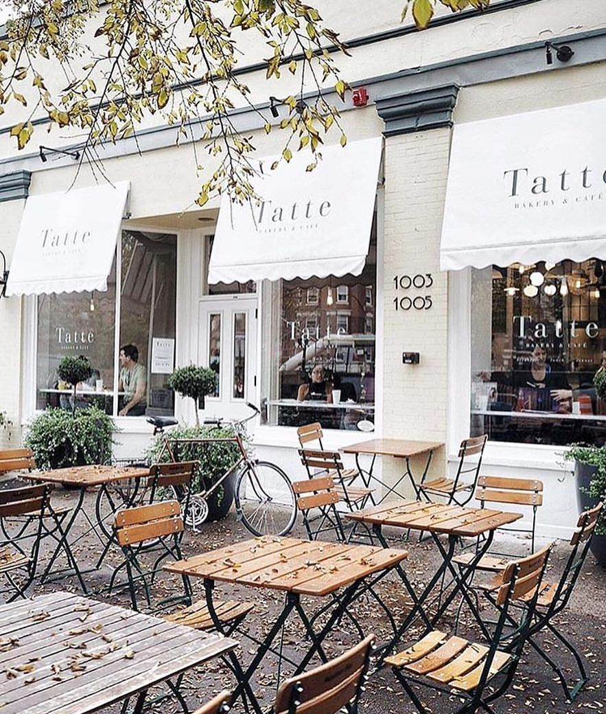 The Cutest Of Bakeries For A Cozy Fall Sunday Tattebakery Phot Cafe Interior Design Cozy Coffee Shop Coffee Shop Interior Design