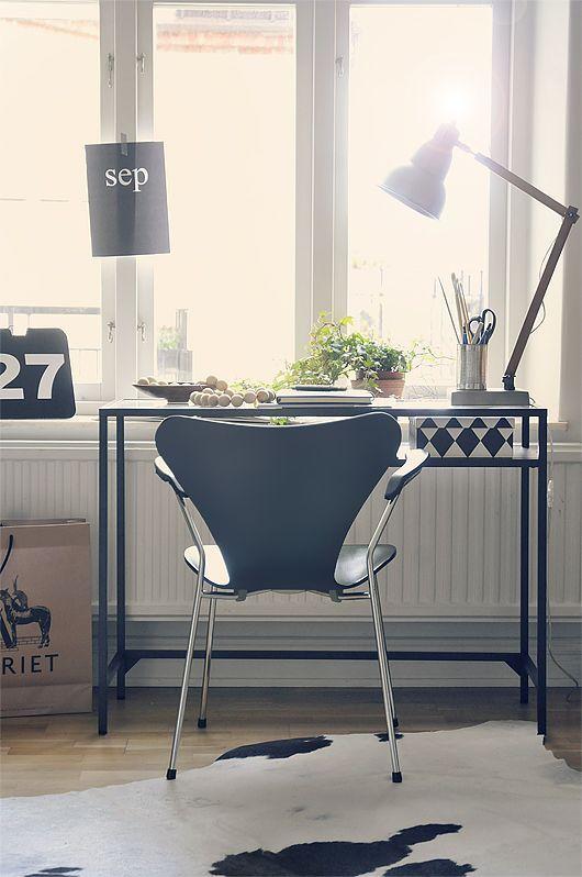 Inspiration en vrac appartement tudiant Bureau Design living