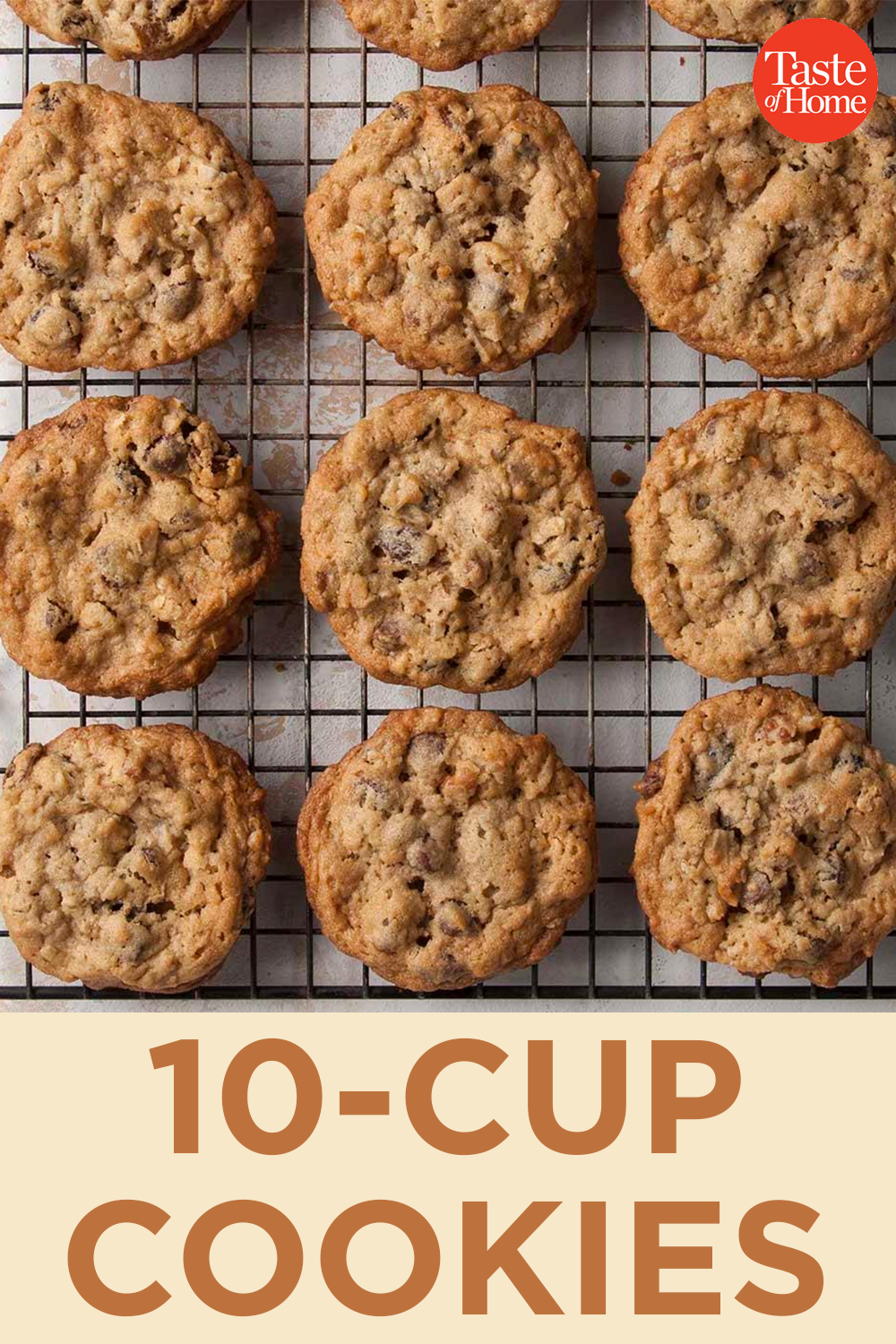 10-Cup Cookies #quickcookierecipes