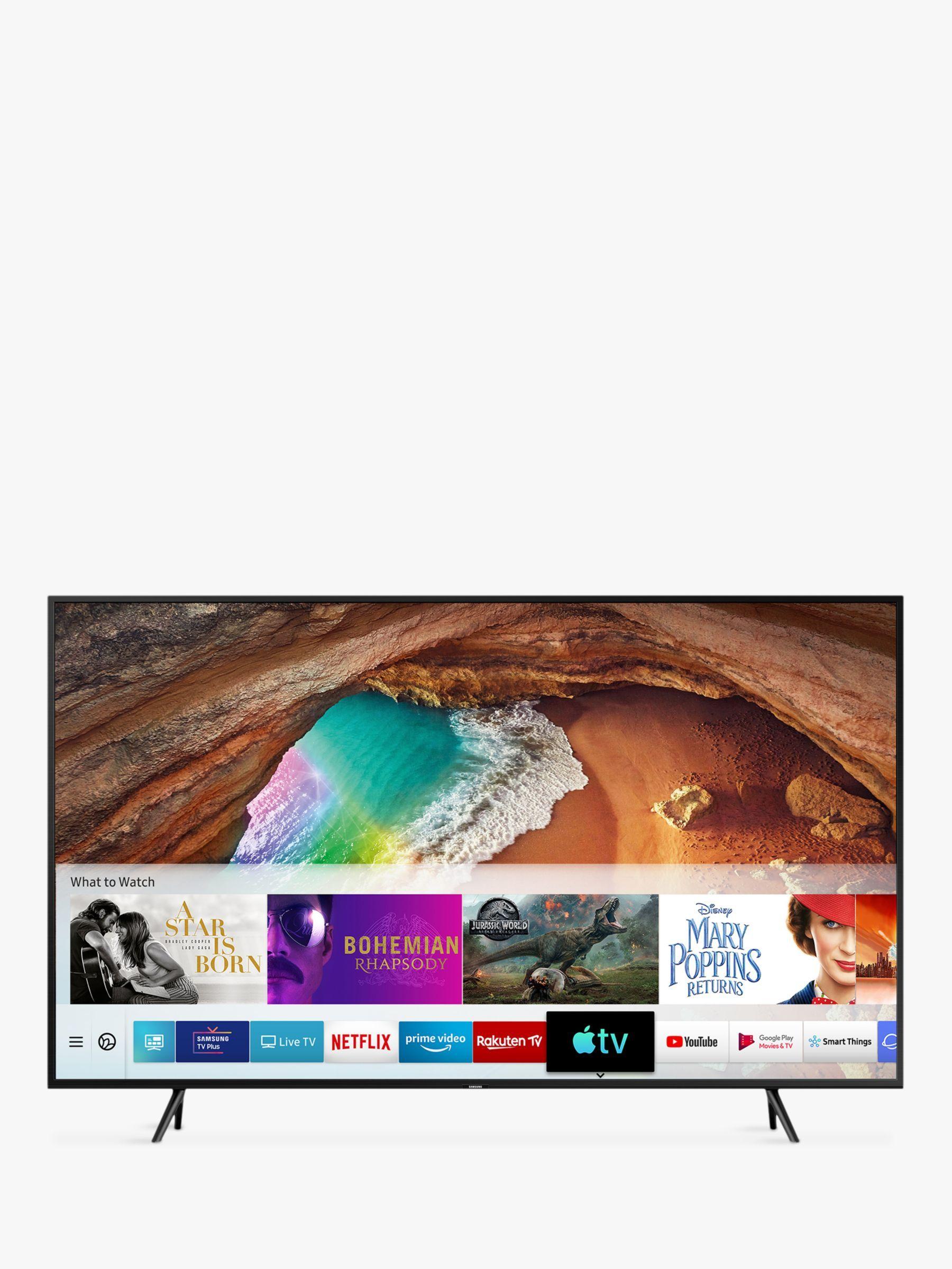 Samsung Qe55q60r 2019 Qled Hdr 4k Ultra Hd Smart Tv 55 With