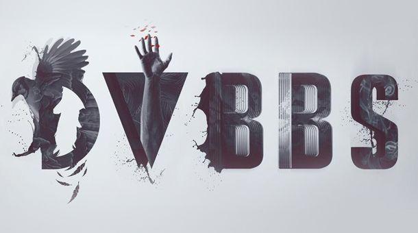 een uniek logo van dvbbs dj s pinterest dj