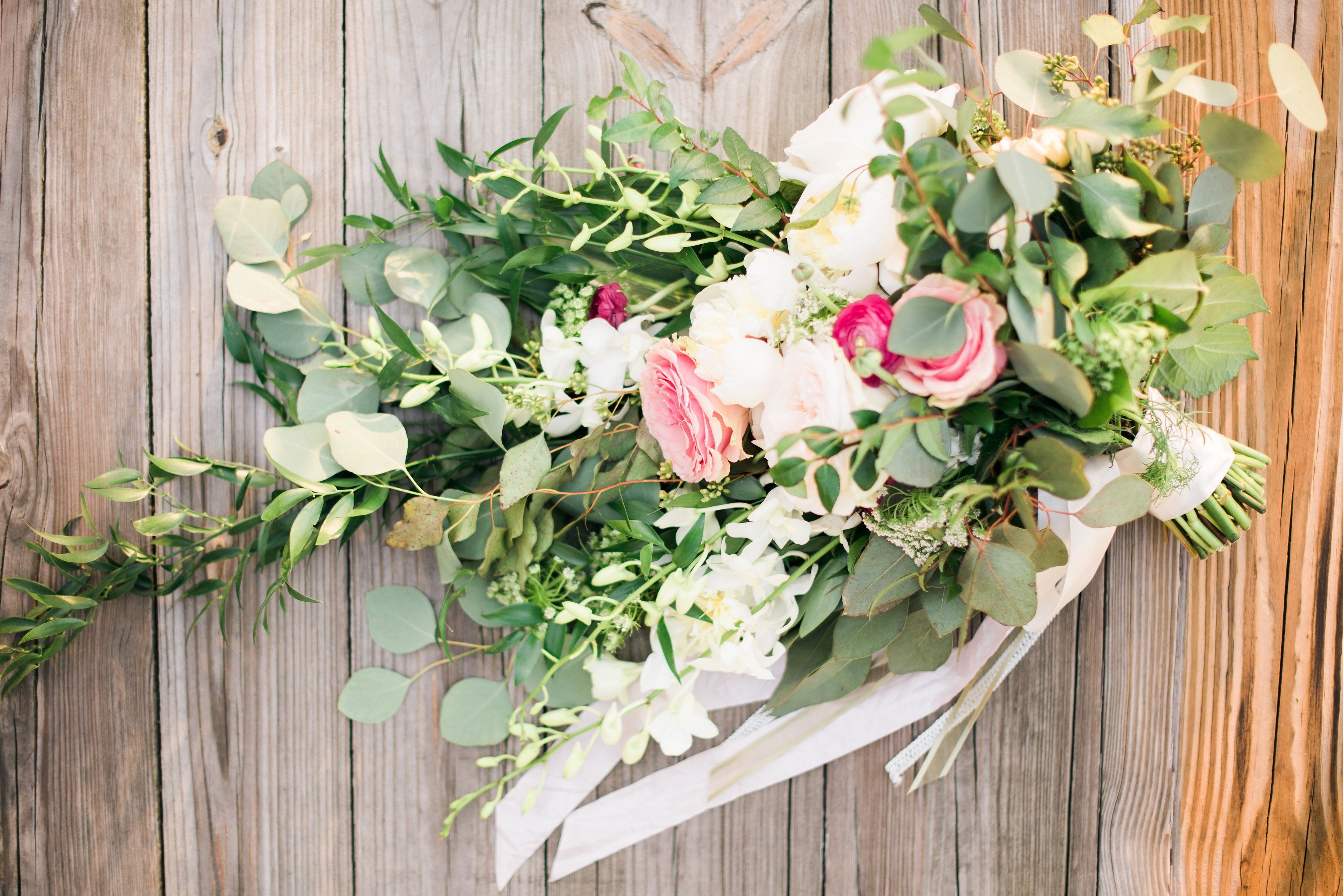 spring wedding spring florals blush ivory sage green magenta