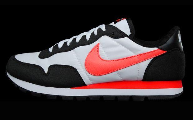 chaussures de séparation 58b25 69c35 NIKE AIR PEGASUS '93 WHITE/SOLAR RED-BLACK. | Men's footwear ...