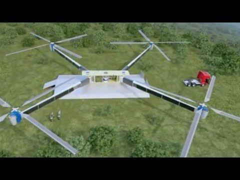 미래의 슈퍼무기 - 초대형드로닉 미사일콥터 - YouTube
