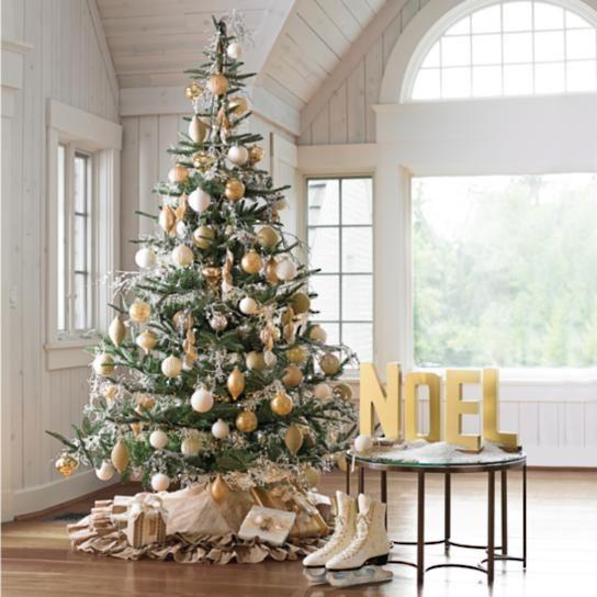 Artificial Trees Home Decor: Noblis Fir Artificial Christmas Tree