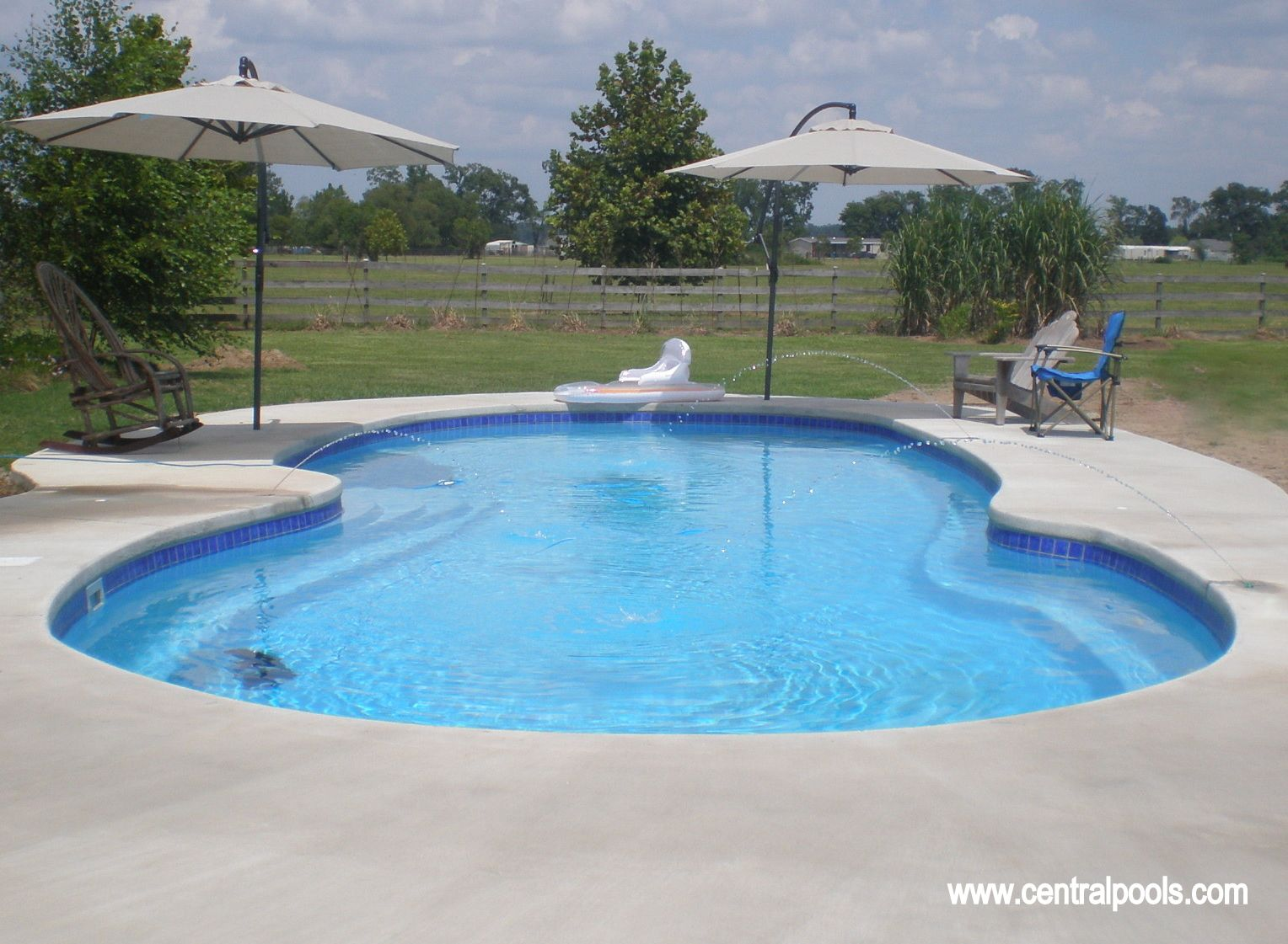 Fiberglass Swimming Pool Swimming Pools In 2019