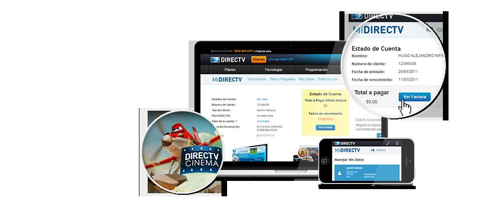 Directv Argentina Beneficios Midirectv Sitio Oficial Argentina Beneficios Sitios