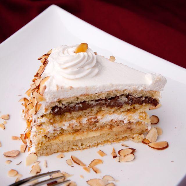 Italian Wedding Cake aka Cream Cake aka Rum Cake cakes Pinterest