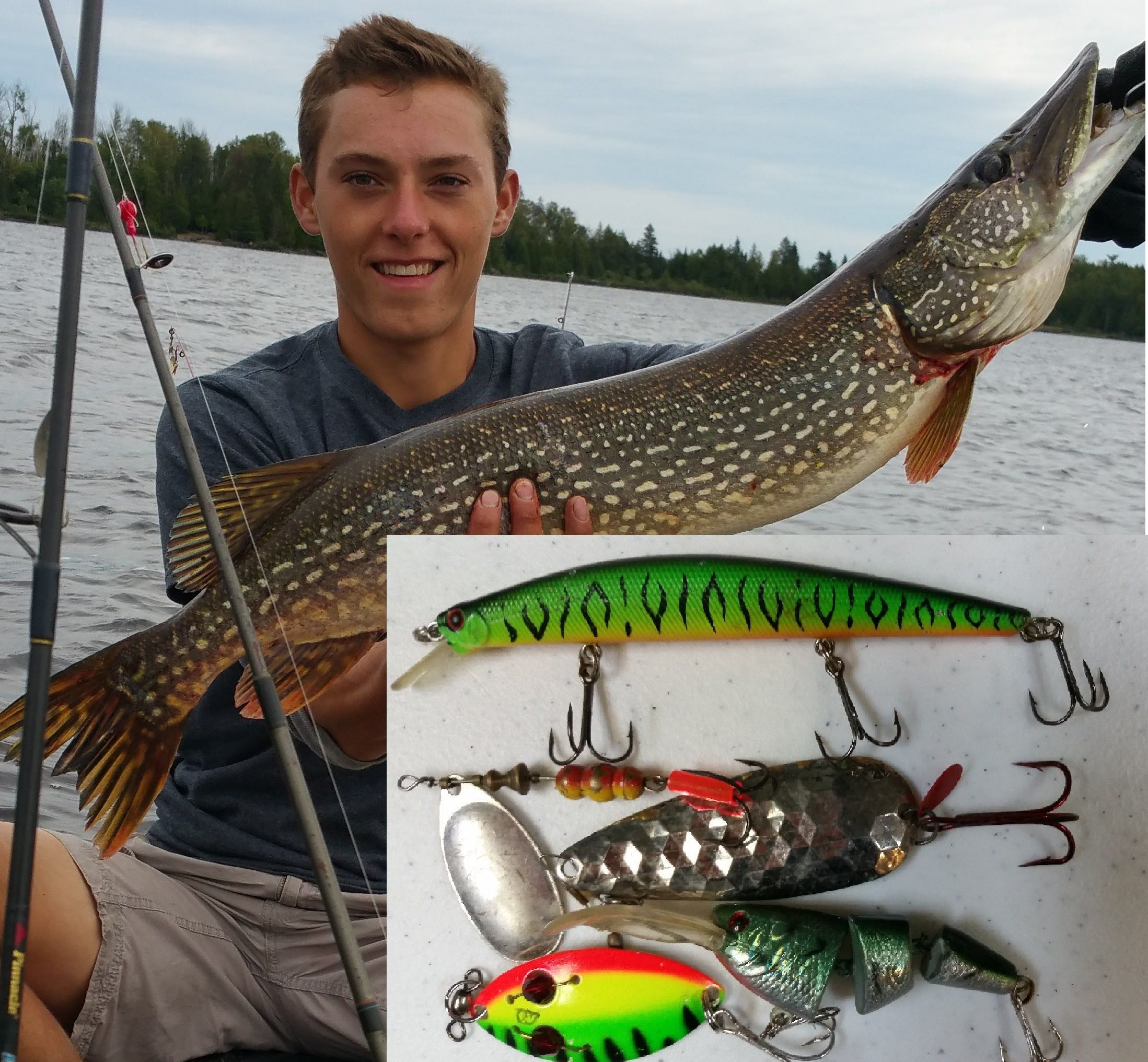 When to catch a pike