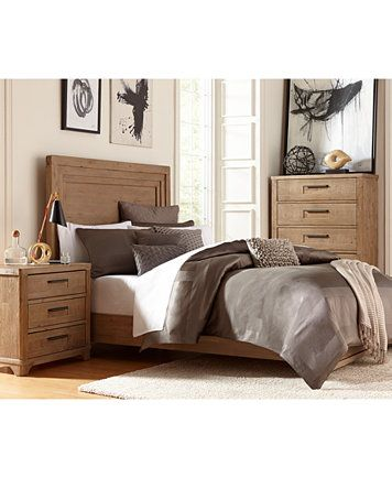 Summerside 3 Piece California King Bedroom Furniture Set with