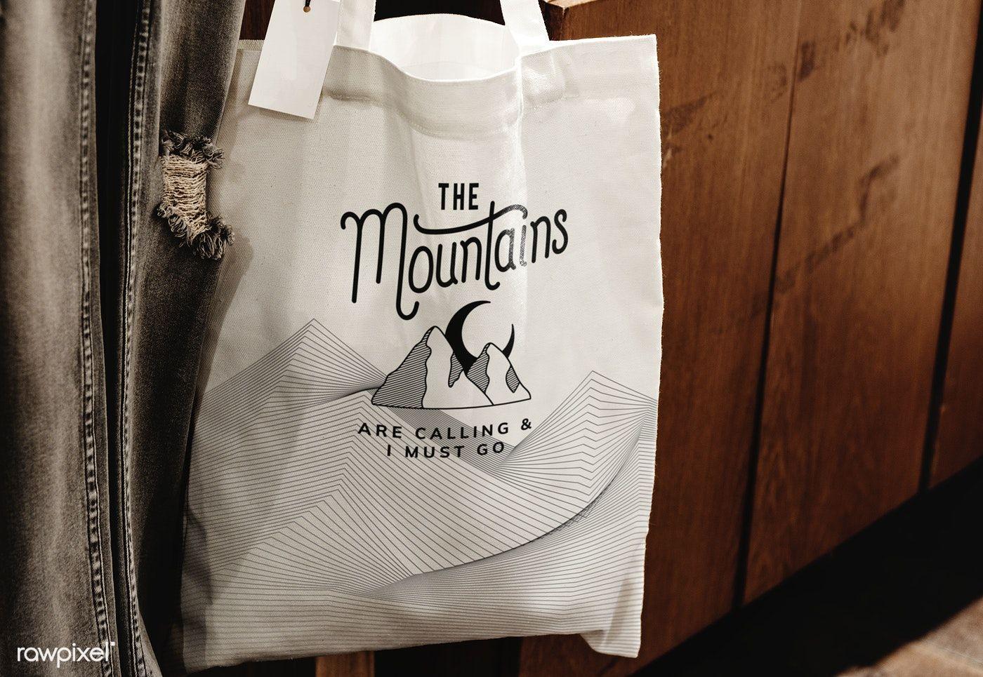 Download Download Premium Psd Of Mockup Of A Reusable Tote Bag 555887 Reusable Tote Bags Design Mockup Free Bag Mockup