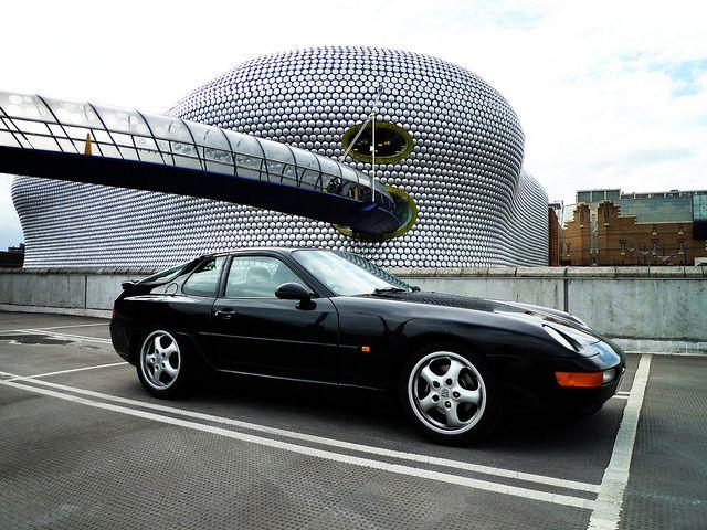 Porsche 968 Parked At The Bull Ring Birmingham Uk Porsche 968 Porsche Porsche 924