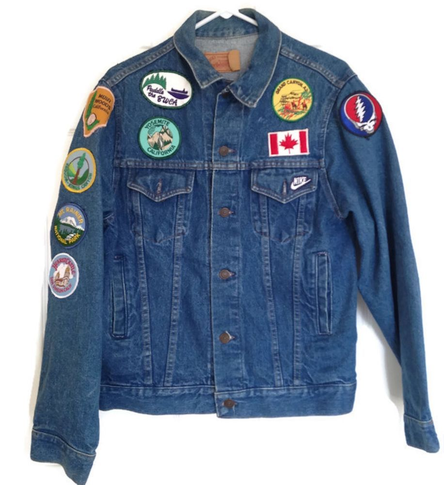 A #Coats #Jackets #Men, #Gap #Denim #Jeans  #Retro #Fashion #GAP #JeanJacket #Retro #Hipster #Grunge #Americana #Arts_Vintage4Lynn #ebay #1980s #Eighties