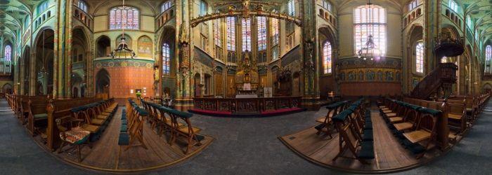 3D panorama St Willibrordkerk - © Aldo Hoeben