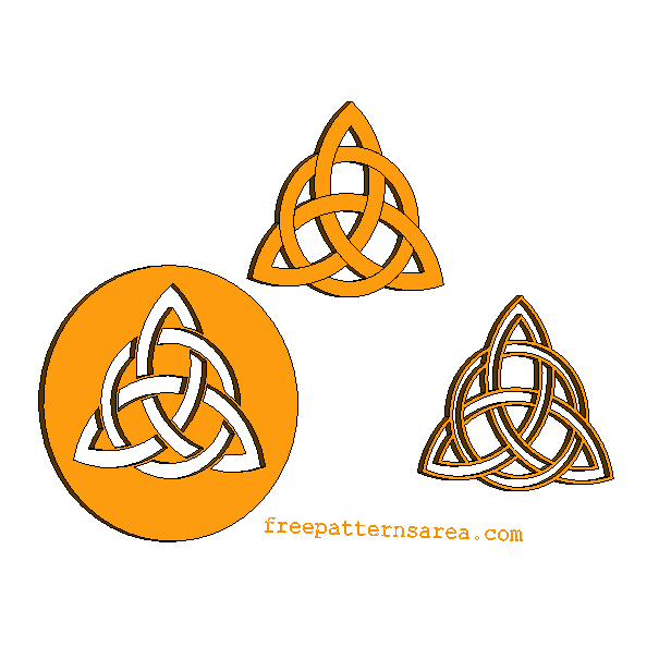 Celtic Triquetra Symbol Jewelry Project Geometric Symbols