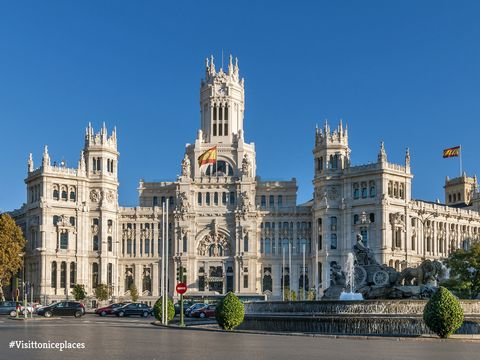 Palacio De Cibeles Madrid Visit To Nice Places Madrid