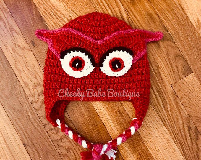 PJ Masks Owlette Crochet Hat  c1be6ee3d23