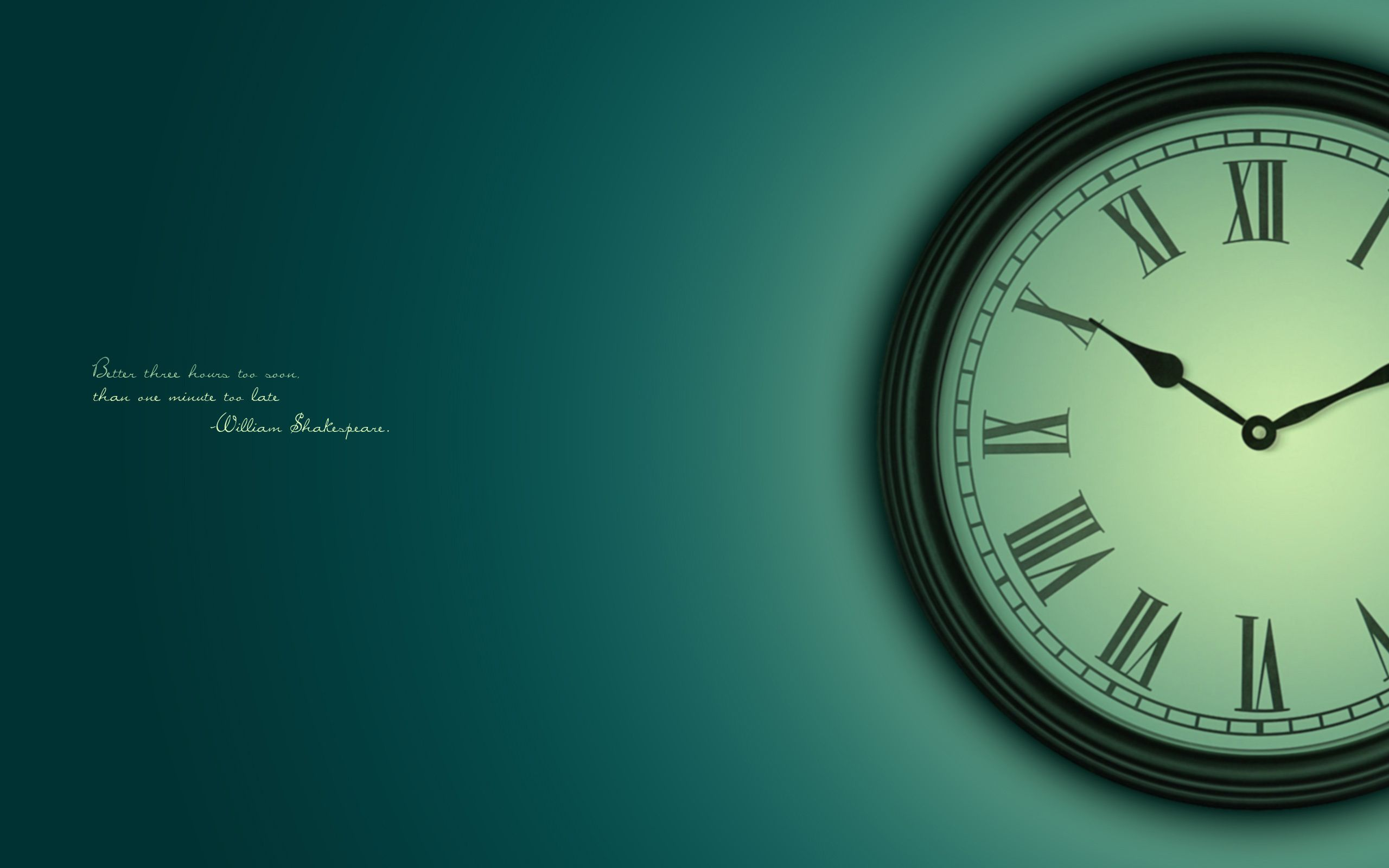 Free download quote wallpapers HD.  Clock wallpaper