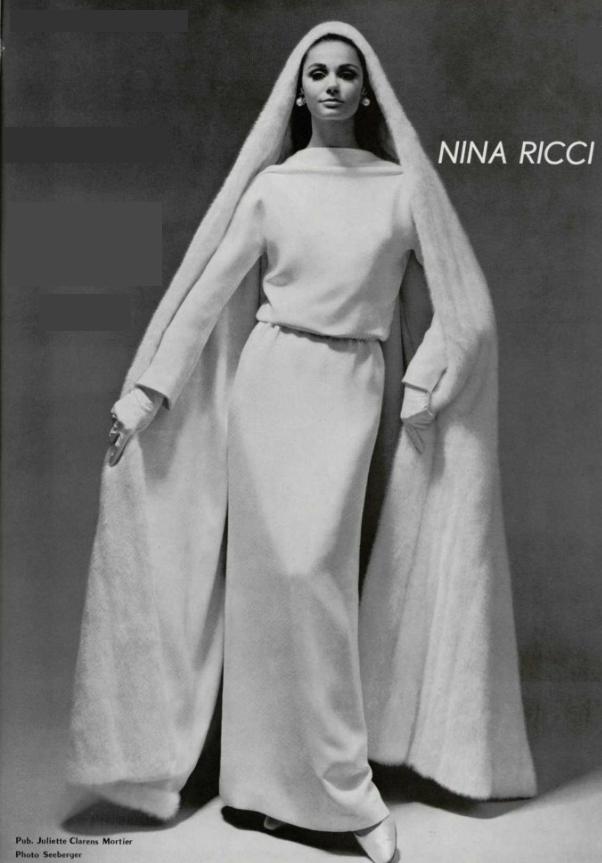 1966 Nina Ricci wedding Dress Nina Ricci Fashion house