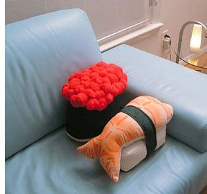 10 Cool Sushi Products You Can\'t Eat | Spot Cool Stuff: Design ...