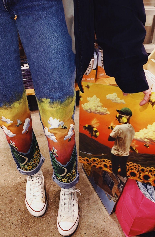 VSCO - schumakerjc - Collection | Denim art, Painted jeans ...